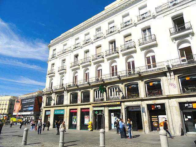 Hostal puerta del sol madrid madrid review by eurocheapo for Hospedaje puerta del sol