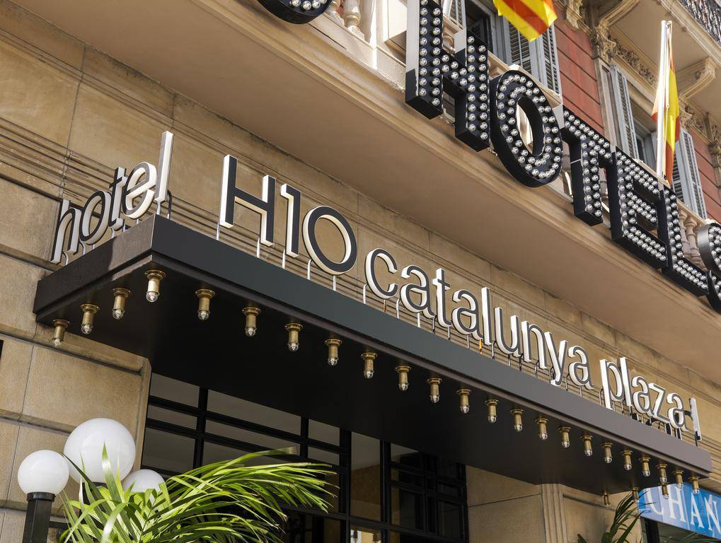 hotel h10 catalunya plaza barcelona review by eurocheapo. Black Bedroom Furniture Sets. Home Design Ideas