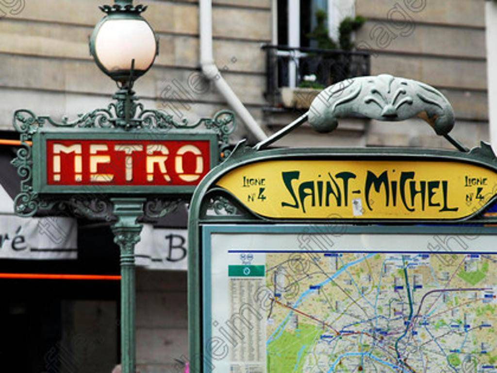 Hotel saint pierre paris review by eurocheapo - Metro saint michel paris ...