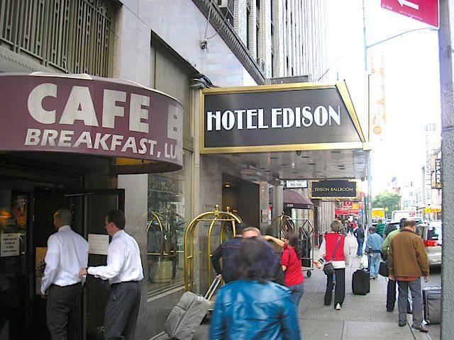 Directions to Edison Hotel, New York